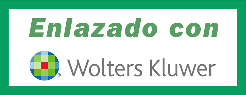 Enlazado con Wolters Kluwer